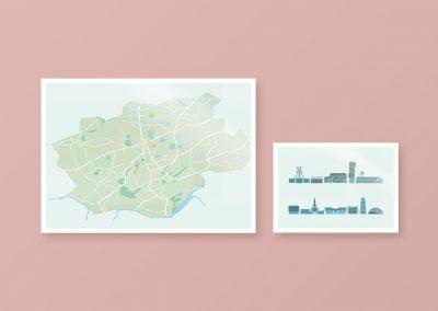 Sehenswürdigkeiten und Karte von Bochum